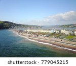 a summer day at teignmouth... | Shutterstock . vector #779045215