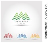 estate mountain symbol   icon...   Shutterstock .eps vector #779047114