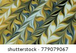 abstract photo blue and yellow... | Shutterstock . vector #779079067