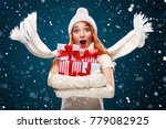 christmas and new year holidays....   Shutterstock . vector #779082925