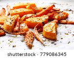 oven baked vegetables with... | Shutterstock . vector #779086345