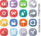 flat vector icon set   shop... | Shutterstock .eps vector #779087434