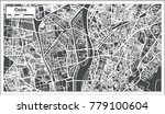 cairo egypt city map in retro... | Shutterstock .eps vector #779100604