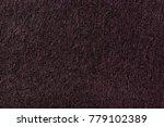 Dark Red Nappy Knitwear Wool...