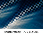 unusual geometric abstract... | Shutterstock . vector #779115001