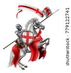 st george patron saint of... | Shutterstock .eps vector #779122741