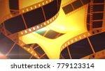 a retro 3d illustration of...   Shutterstock . vector #779123314