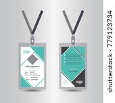 creative simple green   black... | Shutterstock .eps vector #779123734