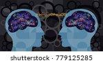 vector illustration of two... | Shutterstock .eps vector #779125285