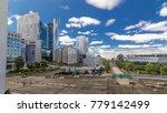 skyscrapers of defense modern... | Shutterstock . vector #779142499