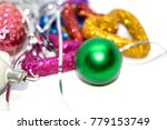 new year's toy. a photo of a... | Shutterstock . vector #779153749