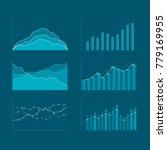 business data market elements.... | Shutterstock .eps vector #779169955