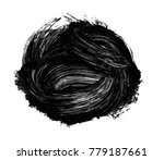 brush stroke and texture. smear ...   Shutterstock . vector #779187661