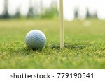 course golf ball cub on the... | Shutterstock . vector #779190541