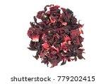 Bunch Of Dry Hibiscus Tea...