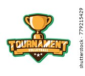 emblem cup championship  | Shutterstock .eps vector #779215429