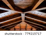 detail shot of a roof structure ... | Shutterstock . vector #779215717