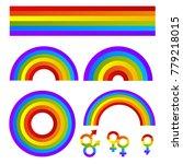 vector sing bright pride lgbt...   Shutterstock .eps vector #779218015