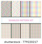 vector pastel light colors... | Shutterstock .eps vector #779220217