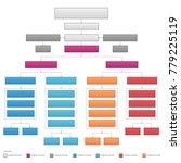 vertical organizational...   Shutterstock .eps vector #779225119