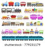 kids train vector cartoon baby...   Shutterstock .eps vector #779231179