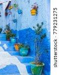 traditional moroccan courtyard...   Shutterstock . vector #779231275