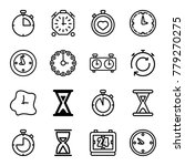 second icons. set of 16...   Shutterstock .eps vector #779270275