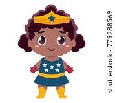 vector cute kawaii kid... | Shutterstock .eps vector #779288569