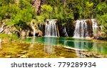 Panoramic View Of Waterfalls...