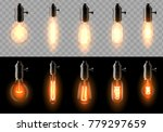a set of old  classic  retro... | Shutterstock .eps vector #779297659