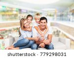 father  mother and children | Shutterstock . vector #779298031