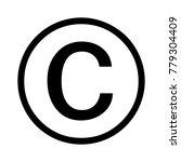 c initial letter logo | Shutterstock .eps vector #779304409