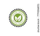 vector design of green natural...   Shutterstock .eps vector #779306851