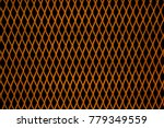 rust metal net steel wire mesh... | Shutterstock . vector #779349559