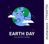 vector illustration of earth... | Shutterstock .eps vector #779349754