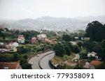 aerial view of asphalt highway... | Shutterstock . vector #779358091