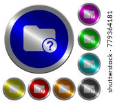 unknown directory icons on... | Shutterstock .eps vector #779364181