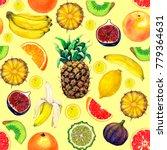 seamless pattern from... | Shutterstock . vector #779364631