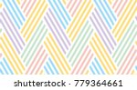 seamless striped pattern. the... | Shutterstock .eps vector #779364661