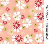 small floral pattern. cute... | Shutterstock .eps vector #779379757