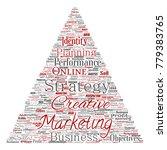 conceptual development business ...   Shutterstock . vector #779383765