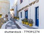 architecture in leros island ... | Shutterstock . vector #779391274