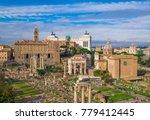 rome  italy   3 december 2017   ... | Shutterstock . vector #779412445