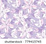 Spring Floral Vector Seamless...