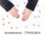 Stylish Trendy Red Festive...