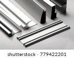 Small photo of Aluminum profile for window, door, bathroom box