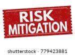 risk mitigation grunge rubber...   Shutterstock .eps vector #779423881