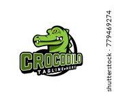 crocodile logo vector | Shutterstock .eps vector #779469274