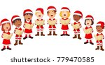 choir girls and boys singing a... | Shutterstock .eps vector #779470585