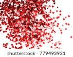 abstract heart twinkling... | Shutterstock . vector #779493931